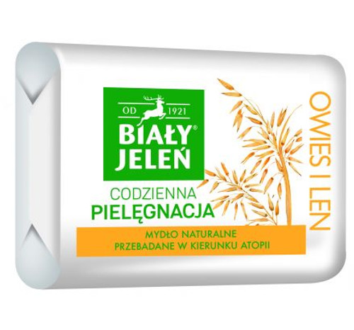 Bialy Jelen - Bar Soap Oat Extract, 100g