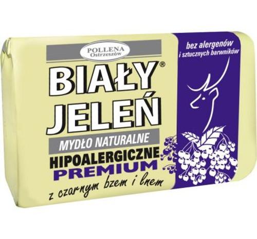 Bialy Jelen - Bar Soap Elderberry Extract, 100g