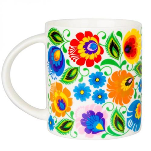 Polish Folk Janek White Mug