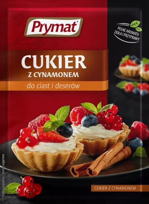 Prymat - Sugar with Cinnamon, 15g