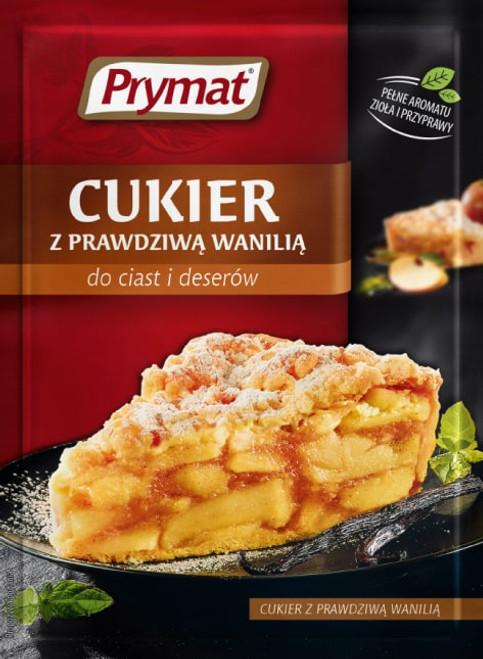Prymat - Sugar with Real Vanilla, 10g