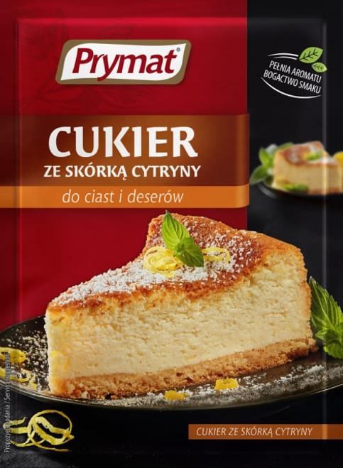 Prymat - Sugar with Lemon Rind, 15g
