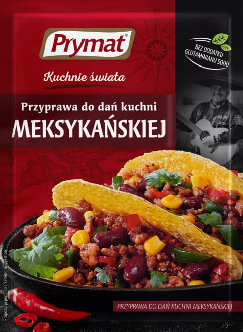 Prymat - Seasoning For Mexican Dishes, 20g