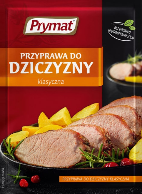 Prymat - Seasoning For Venison Dishes, 20g