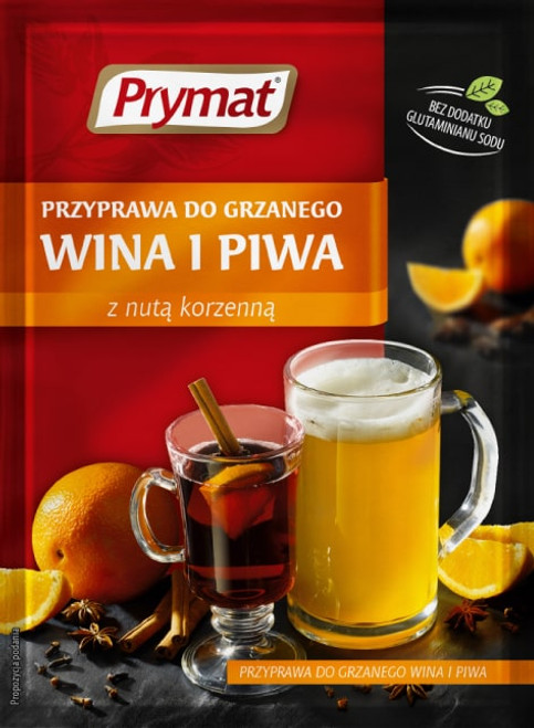 Prymat - Spice For Mulled Wine and Beer, 40g