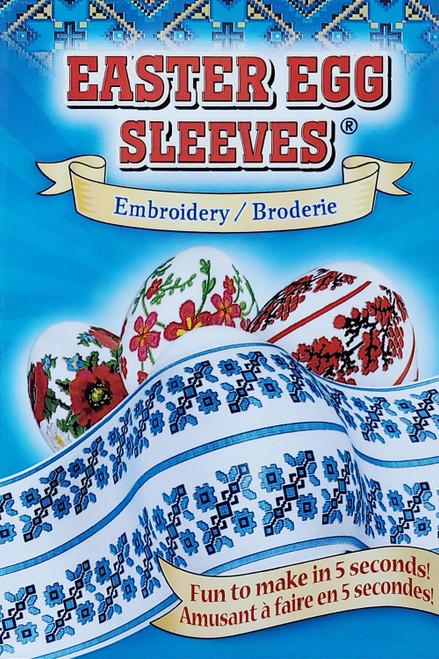 Easter Egg Sleeves Embroidery Pisanki