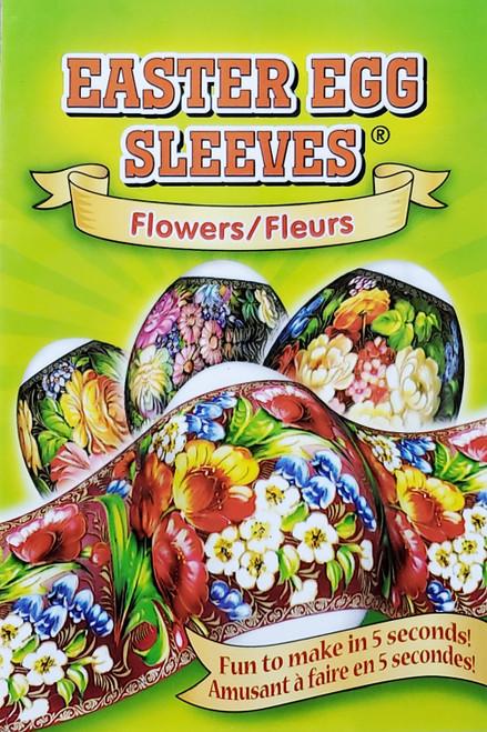 Easter Egg Sleeves Flowers Pisanki