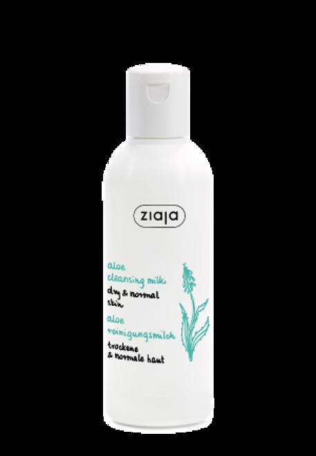 Ziaja - Aloe Cleansing Milk, Vegan, 200ml