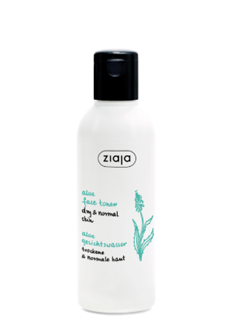 Ziaja - Aloe Face Toner, Vegan, 200ml