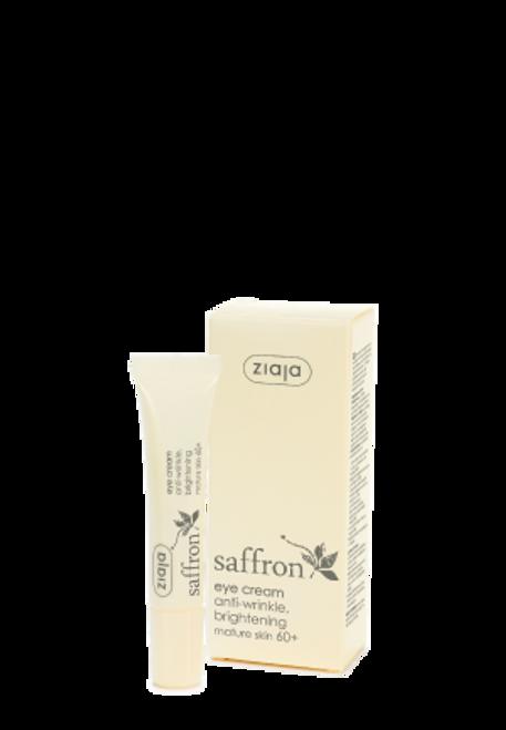 Ziaja - Saffron 60+ Eye Cream, Vegan, 15ml