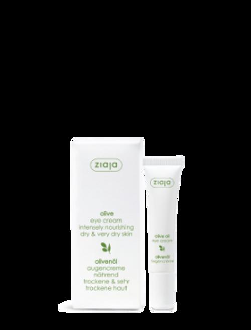 Ziaja - Natural Olive Eye Cream, Vegan, 15ml