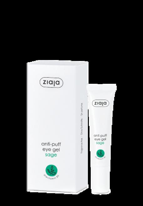 Ziaja - Herbika Sage Anti-Puff Eye Gel, Vegan, 15ml