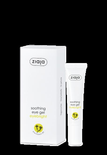 Ziaja - Herbika Eyebright Soothing Eye Gel, Vegan, 15ml