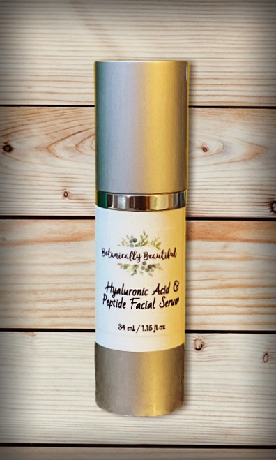 Hyaluronic Acid & Peptide Facial Serum