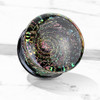 Multi Color Sparkle Galaxy Double Flared Glass Plugs