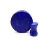 Blue Lapis Natural  Stone Ear Gauges plugs