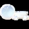 Pansy Organic Opalite plugs  Ear Gauges