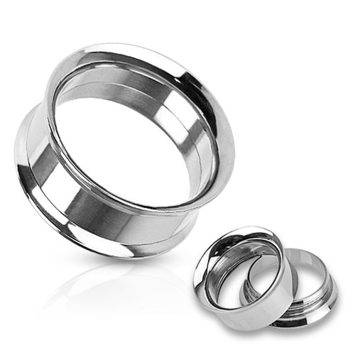 Silver color  internal thread Stainless Steel Plugs