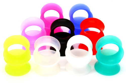 Ultra thin soft silicone ear skins choose color