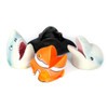 Puppets (hand) Sea Creatures Soft Feel Set of 4