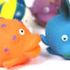 6pc Fish Water Play Set