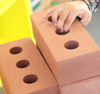 Get them solving problems and sharing the task with their friends by exploring how to fit bricks together
