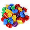 80PC Construction Set Cylinders Various Colours