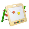 2 in 1 options, one side for use with erasable pens. Quick and easy to wipe clean.  Perfect for early years and children starting school.