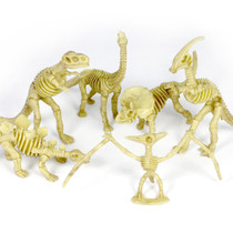 Dinosaur Small Skeleton, Counting and Matching Set of 18