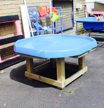 Outdoor Large Hand Made Wooden Activity Table with Tray