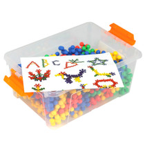 Construction Soft Touch Round Connectors 190 Piece Set