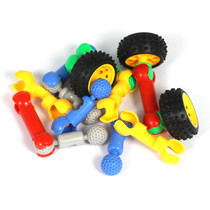 Plastic Vehicle Construction Vehicle Parts Connectors 160 Piece Set