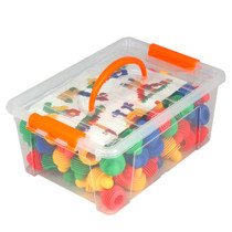 Construction Soft Touch Shape Connectors 120 Piece Set