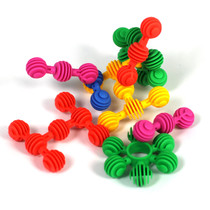 Construction Soft Touch Numerecy Balls 120 Piece Set