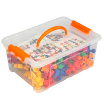 Construction Soft Touch Animals 72 Piece Set