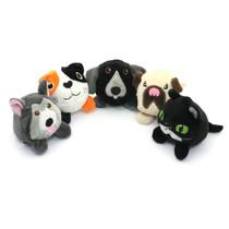 PLUSH! Full set of cats & dogs