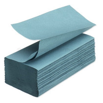 VFOLD Hand Tissue Green 1ply Recycled 3600pcs
