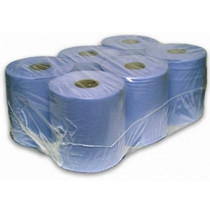 Blue Centre Feed Rolls 6 Pack