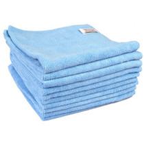 Contract Microfibre Cloth  Blue 10pk