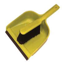 Dustpan & Soft Brush Set - Yellow