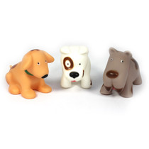 Role Play Dogs Very soft, Can Play In Water 6 Piece Set