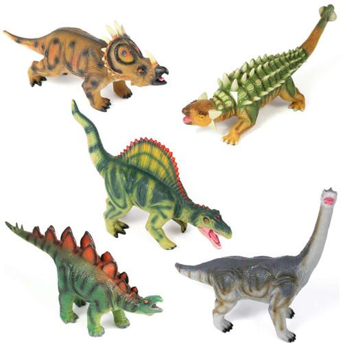 Dinosaur Jumbo, Sensory Soft Touch Set of 5