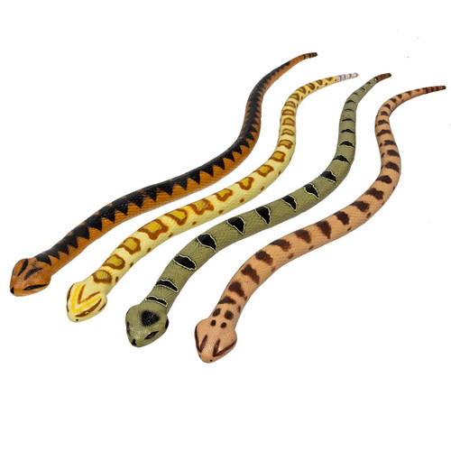Large Snakes Soft Feel Set of 4
