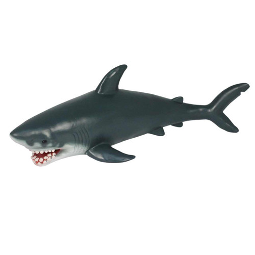 Jumbo Great White Shark Soft Feel 18 Inch