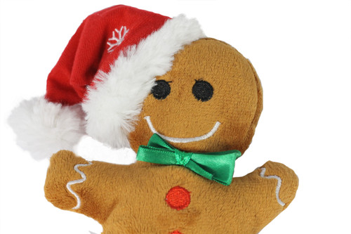 Festive Friends Plush Gingerbread Man
