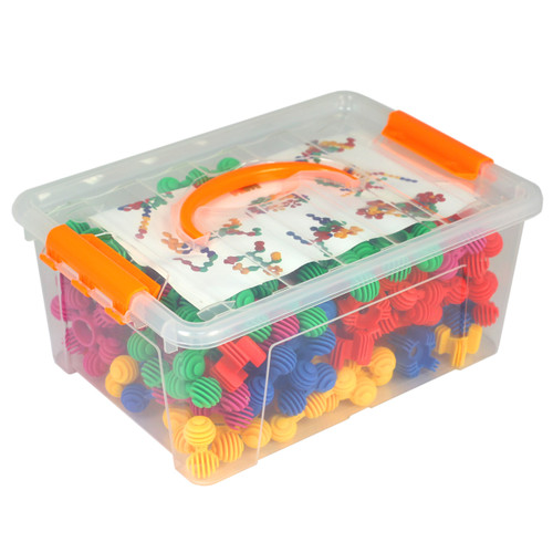 Construction Soft Touch Numeracy Balls 120 Piece Set