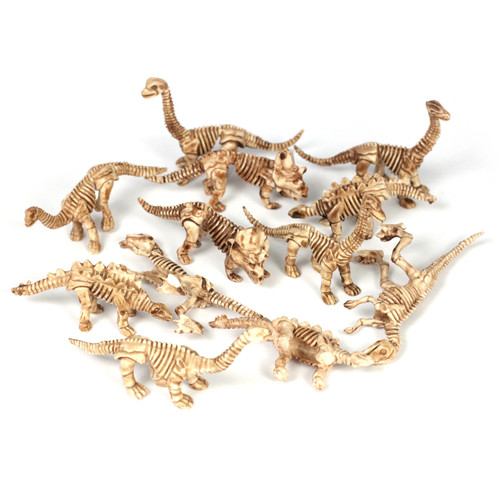 Dinosaur Skeleton Small Counting and Matching Set (204 pieces)