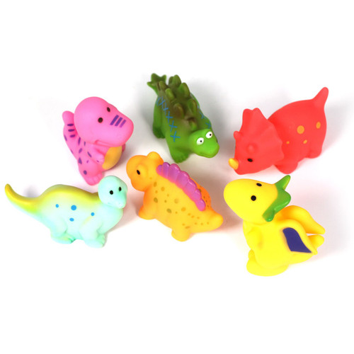 Role Play Dinosaurs Very Soft, Can Play In Water 12 Piece Set