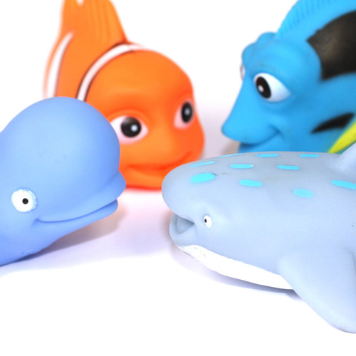 10pc Fish Water Play Set