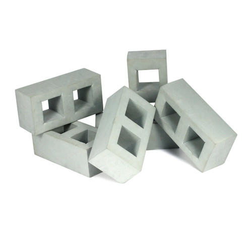 Bricks Grey Solid Soft Foam Masonry Block